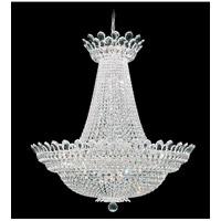 Schonbek 5874S Trilliane 63 Light 40 inch Silver Chandelier Ceiling Light in Clear Swarovski