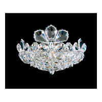 Trilliane 2 Light 6 inch Silver Wall Sconce Wall Light in Clear Swarovski