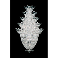 Schonbek Trilliane 20 Light Wall Sconce in Silver and Crystal Swarovski Elements Trim 5889S
