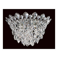 Trilliane Strands 4 Light Stainless Steel Flush Mount Ceiling Light in Clear Heritage