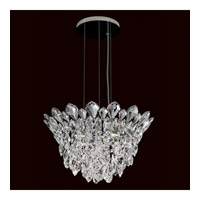 Schonbek Trilliane Strands 4 Light Pendant in Stainless Steel TR1211N-401H