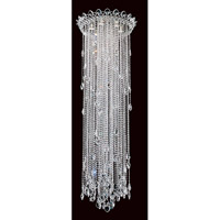 Trilliane Strands 6 Light Stainless Steel Flush Mount Ceiling Light in Clear Heritage