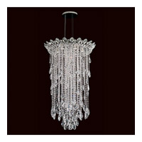 Trilliane Strands 6 Light 24 inch Stainless Steel Pendant Ceiling Light in Clear Heritage
