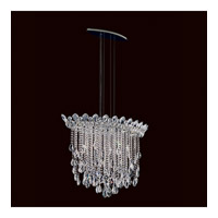 Trilliane Strands 6 Light 19 inch Stainless Steel Pendant Ceiling Light in Clear Heritage