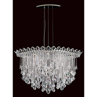 Schonbek Trilliane Strands 8 Light Pendant in Stainless Steel TR4812N-401H