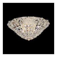 Schonbek Tiara 5 Light Flush Mount in Silvergild and Clear Spectra Crystal Trim 9801-91