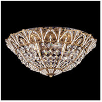 Tiara 6 Light 18 inch Etruscan Gold Flush Mount Ceiling Light