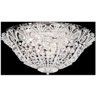 Tiara 9 Light 20 inch Antique Silver Flush Mount Ceiling Light