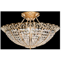 Schonbek 9845-26 Tiara 17 Light 30 inch French Gold Semi Flush Mount Ceiling Light