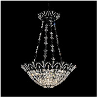 Tiara 7 Light 20 inch Jet Black Pendant Ceiling Light