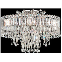 Schonbek LR1004N-48A Triandra 5 Light 19 inch Antique Silver Semi Flush Mount Ceiling Light in Spectra photo thumbnail