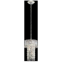 Schonbek LR1008N-06A Triandra 3 Light 11 inch White Pendant Ceiling Light in Clear Spectra
