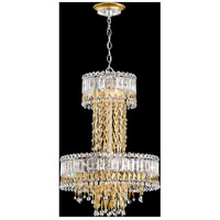 Schonbek LR1010N-06A Triandra 7 Light 19 inch White Pendant Ceiling Light in Spectra