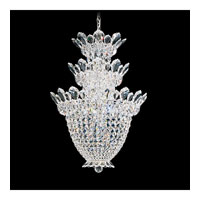Schonbek Trilliane 15 Light Chandelier in Silver and Crystal Swarovski Elements Trim 5847S