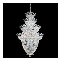 Schonbek Trilliane 24 Light Chandelier in Silver and Crystal Swarovski Elements Trim 5848S