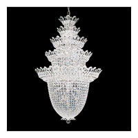 Schonbek Trilliane 48 Light Chandelier in Silver and Crystal Swarovski Elements Trim 5849S