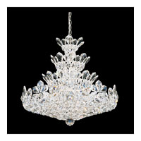 Schonbek Trilliane 24 Light Chandelier in Silver and Crystal Swarovski Elements Trim 5858S