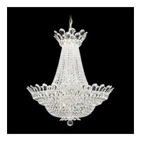 Schonbek Trilliane 40 Light Chandelier in Silver and Crystal Swarovski Elements Trim 5872S