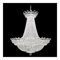 Schonbek Trilliane 63 Light Chandelier in Silver and Crystal Swarovski Elements Trim 5874S