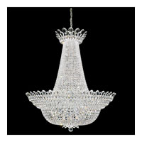 Schonbek Trilliane 76 Light Chandelier in Silver and Crystal Swarovski Elements Trim 5875
