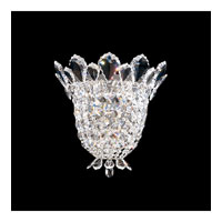Schonbek Trilliane 3 Light Wall Sconce in Silver and Crystal Swarovski Elements Trim 5876S