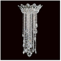 Trilliane Strands 3 Light Stainless Steel Flush Mount Ceiling Light in Clear Heritage