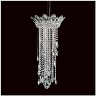 Trilliane Strands 3 Light 13 inch Stainless Steel Pendant Ceiling Light in Clear Heritage