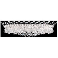 Trilliane Strands 6 Light 8 inch Stainless Steel Wall Sconce Wall Light in Clear Heritage