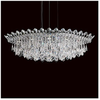 Schonbek TR4811N-401H Trilliane Strands 8 Light 25 inch Stainless Steel Pendant Ceiling Light in Trilliane Strands Heritage