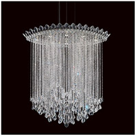 Schonbek TR4813N-401H Trilliane Strands 8 Light 25 inch Stainless Steel Pendant Ceiling Light in Clear Heritage