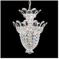 Schonbek 5846A Trilliane 5 Light 13 inch Silver Pendant Ceiling Light in Clear Spectra