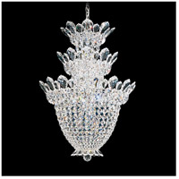 Trilliane 15 Light 19 inch Silver Chandelier Ceiling Light in Clear Spectra