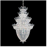 Trilliane 24 Light 24 inch Silver Chandelier Ceiling Light in Clear Spectra