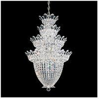 Schonbek 5848A Trilliane 24 Light 24 inch Silver Chandelier Ceiling Light in Clear Spectra