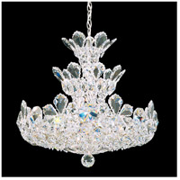 Schonbek 5851A Trilliane 15 Light 20 inch Silver Chandelier Ceiling Light in Clear Spectra