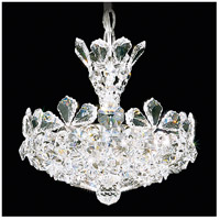 Schonbek 5852S Trilliane 4 Light 11 inch Silver Pendant Ceiling Light in Clear Swarovski