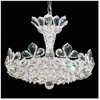 Schonbek 5853S Trilliane 6 Light 16 inch Silver Pendant Ceiling Light in Clear Swarovski