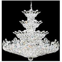 Schonbek 5856A Trilliane 30 Light 30 inch Silver Chandelier Ceiling Light in Clear Spectra