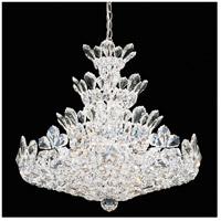Schonbek 5858A Trilliane 24 Light 24 inch Silver Chandelier Ceiling Light in Clear Spectra