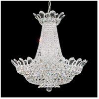 Schonbek 5871S Trilliane 24 Light 24 inch Silver Chandelier Ceiling Light in Clear Swarovski