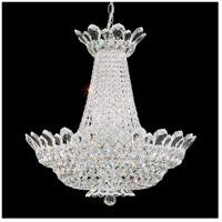 Schonbek 5871A Trilliane 24 Light 24 inch Silver Chandelier Ceiling Light in Clear Spectra