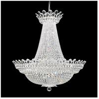 Schonbek 5874A Trilliane 63 Light 40 inch Silver Chandelier Ceiling Light in Clear Spectra