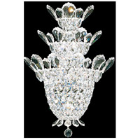 Schonbek 5888A Trilliane 4 Light 7 inch Silver Wall Sconce Wall Light in Trilliane Spectra