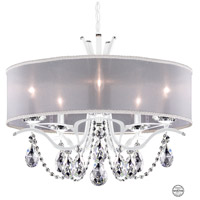 White Vesca Chandeliers