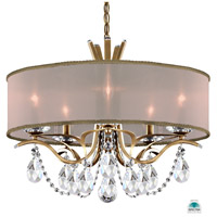 Schonbek VA8305N-22A2 Vesca 5 Light 24 inch Heirloom Gold Chandelier Ceiling Light in Clear Spectra