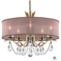 Schonbek VA8305N-22A3 Vesca 5 Light 24 inch Heirloom Gold Chandelier Ceiling Light in Vesca Spectra Vesca Bronze