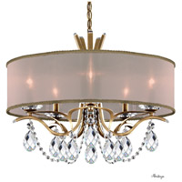 Schonbek VA8305N-22H2 Vesca 5 Light 24 inch Heirloom Gold Chandelier Ceiling Light in Vesca Gold Vesca Heritage