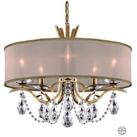 Schonbek VA8305N-22S2 Vesca 5 Light 24 inch Heirloom Gold Chandelier Ceiling Light in Vesca Swarovski Vesca Gold