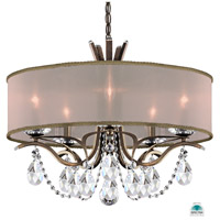 Schonbek VA8305N-23A2 Vesca 5 Light 24 inch Etruscan Gold Chandelier Ceiling Light in Vesca Spectra Vesca Gold