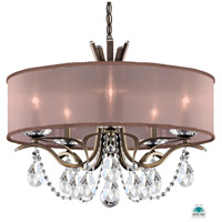 Schonbek VA8305N-23A3 Vesca 5 Light 24 inch Etruscan Gold Chandelier Ceiling Light in Vesca Spectra Vesca Bronze